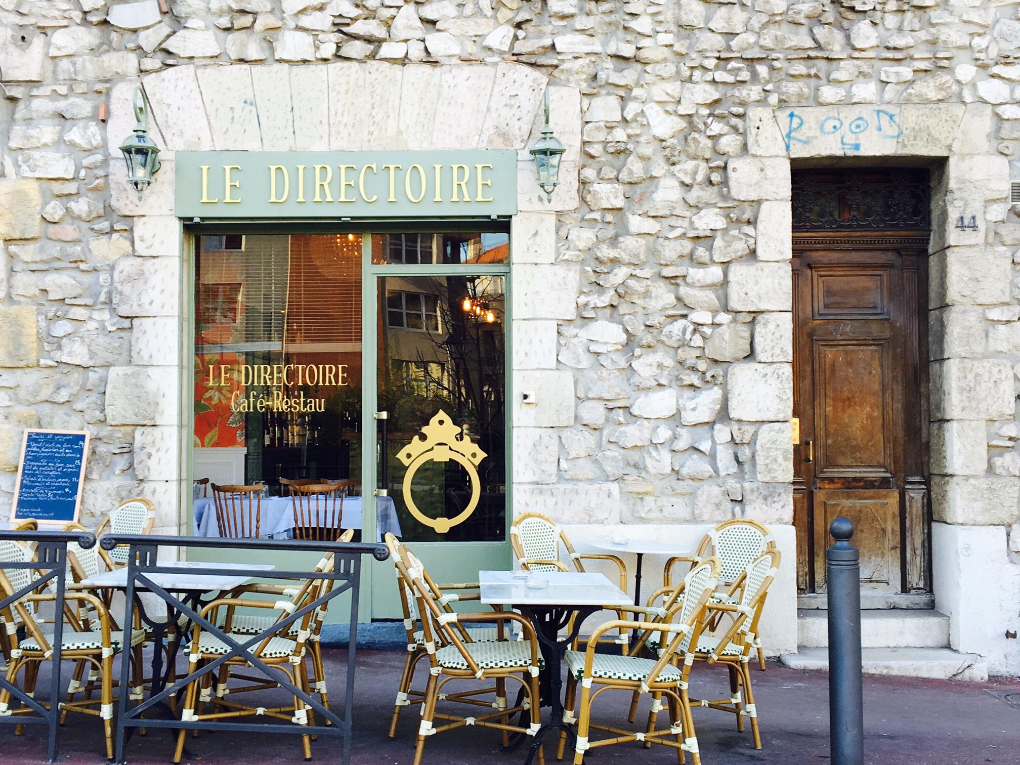 Restaurant quartier des antiquaires