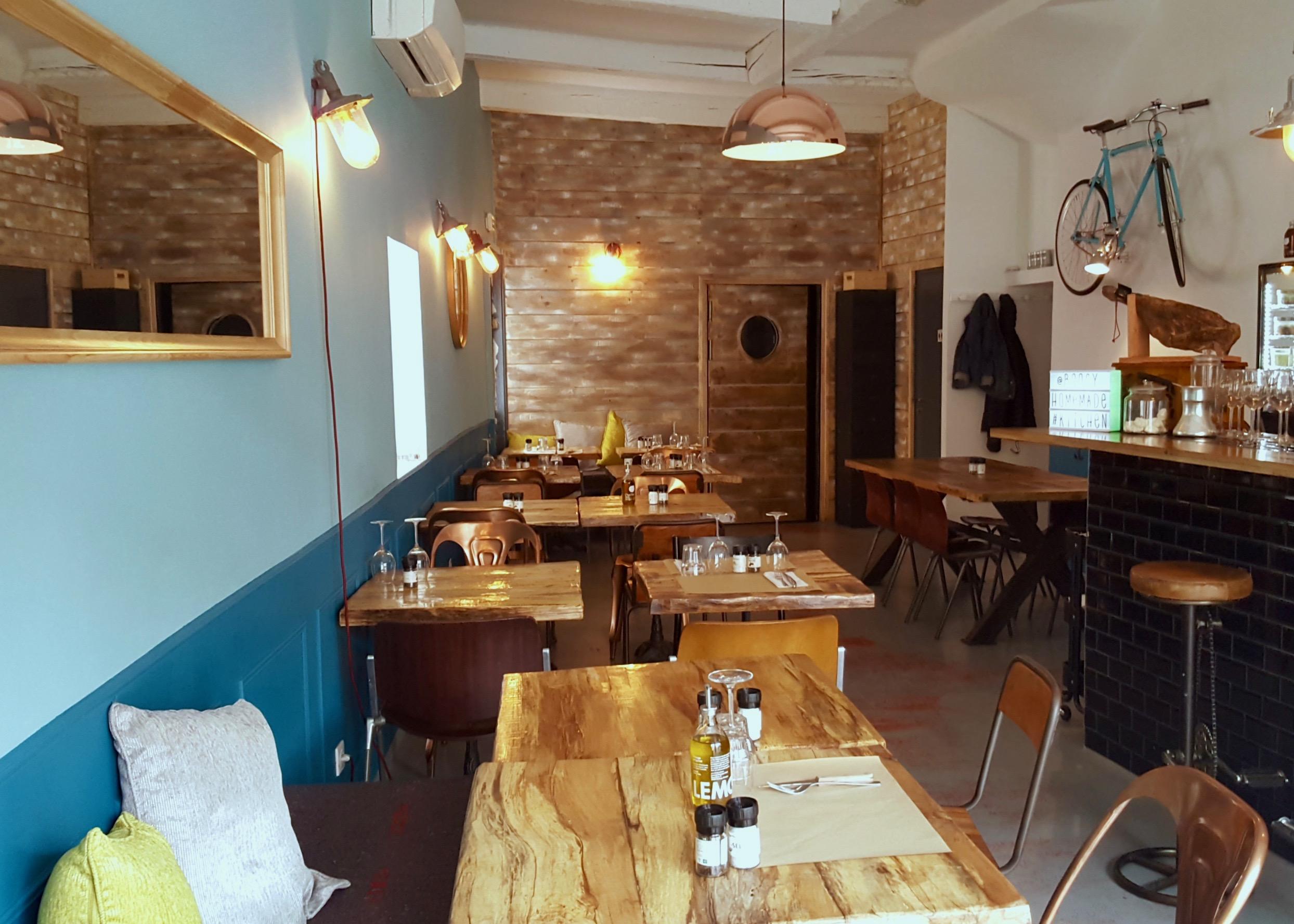 Cuisine italienne et burgers la salle manger love spots for Salle a manger vilvoorde restaurant