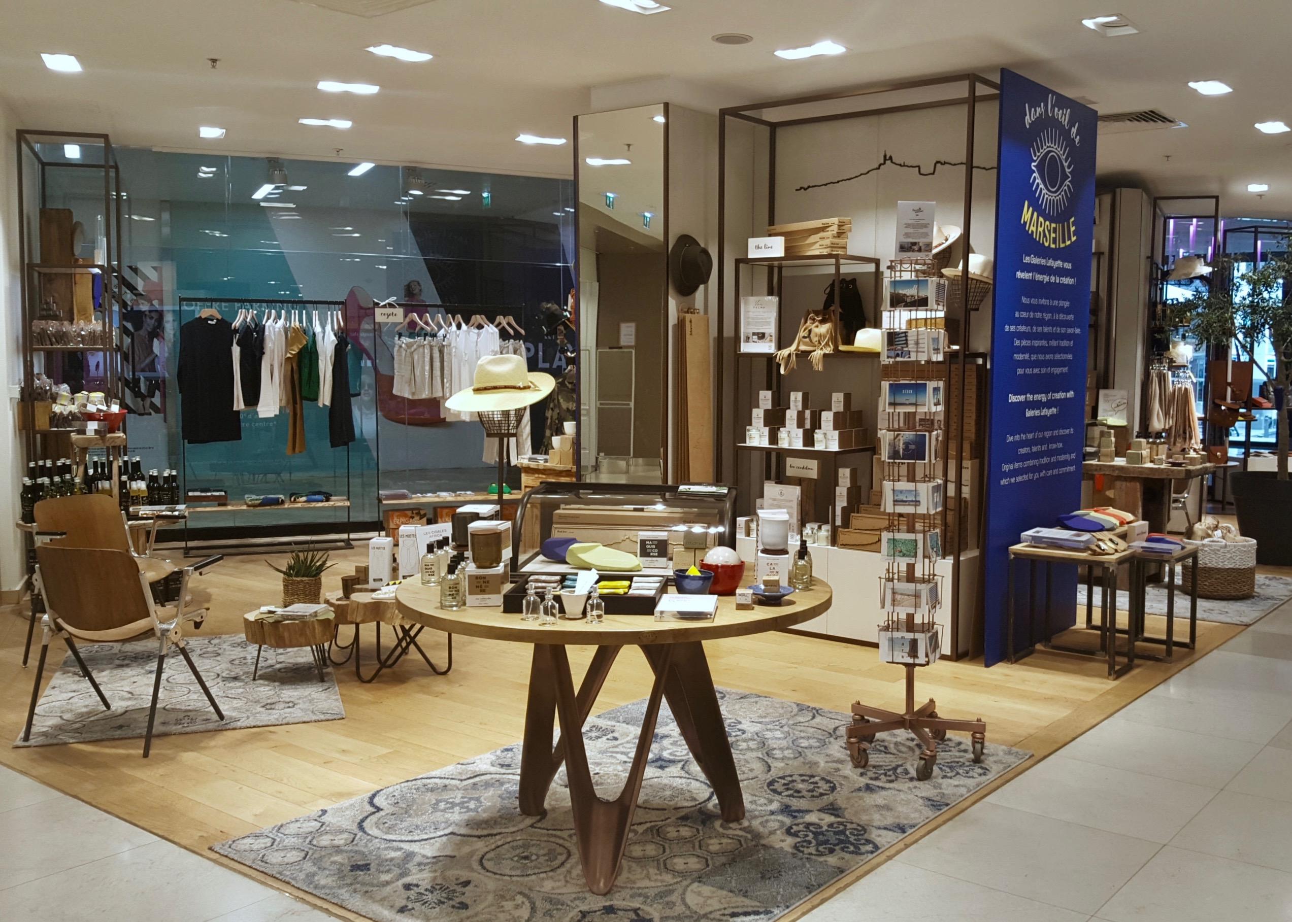 concept store dans l 39 oeil de marseille love spots. Black Bedroom Furniture Sets. Home Design Ideas