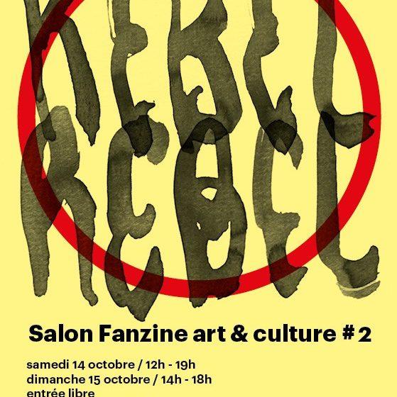 festival Fanzines Marseille rebel rebel